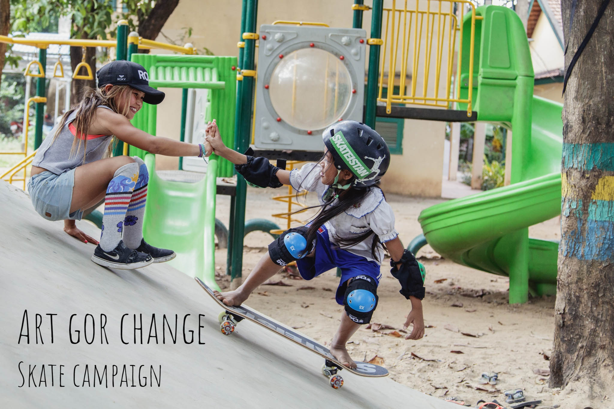 Art for Change | Skate campaign